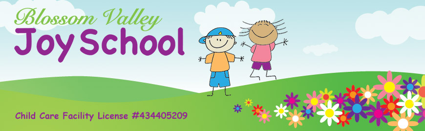 Blossom Valley Joy School Header